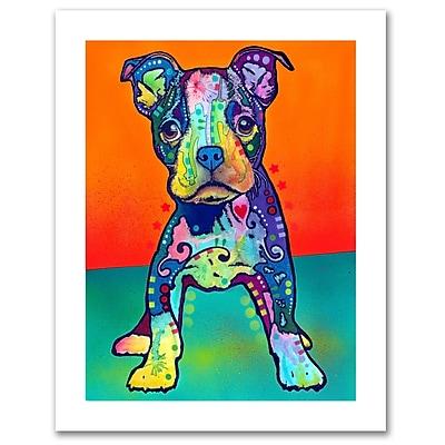 Trademark Fine Art Dean Russo 'On My Own' Paper Art 18 x 24 (ALI0251-1824-P)
