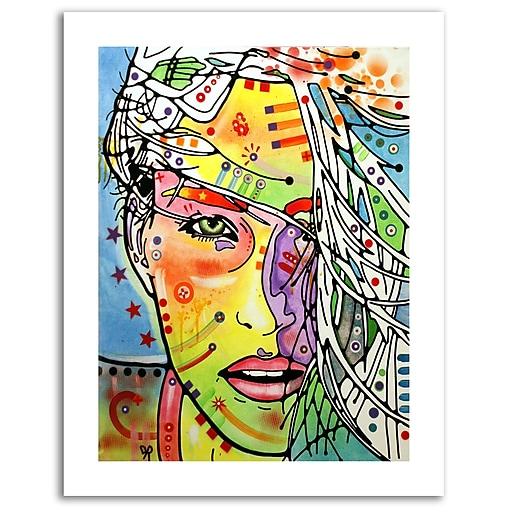 Trademark Fine Art Dean Russo 'Wind Swept' Paper Art 18 x 24 (ALI0263-1824-P)