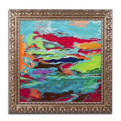 Trademark Fine Art Hilary Winfield 'Hidden Pathway' 11 x 11 (ALI0720-G1111F)