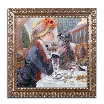 Trademark Fine Art Pierre Renoir 'The Luncheon of the Boating Party' 11 x 11 (BL0972-G1111F)
