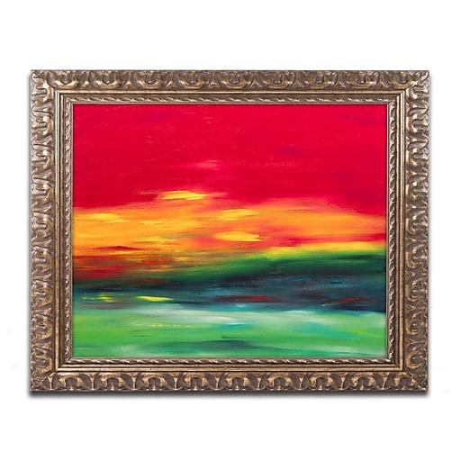 Trademark Fine Art Hilary Winfield 'Island Sky 2'  11 x 14 (ALI0721-G1114F)