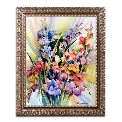 Trademark Global Rita Auerbach 'Glad Bursts' Ornate Art, 16
