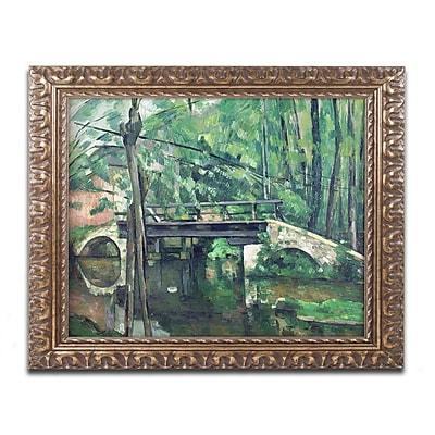 Trademark Fine Art Paul Cezanne 'View of the Marsailles Bay 1878' 11 x 14 (BL0179-G1114F)