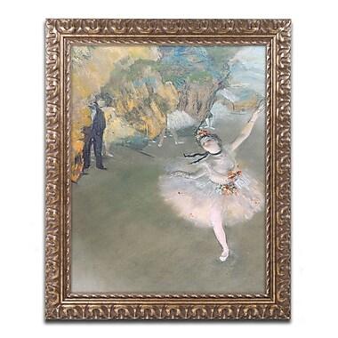 Trademark Fine Art Edgar Degas 'The Star 1876' 11 x 14 (BL0276-G1114F)
