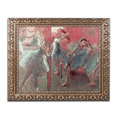 Trademark Fine Art Edgar Degas 'Dancers at Rehearsal 1895-98' 11 x 14 (BL0810-G1114F)