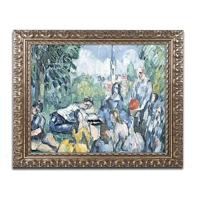 Trademark Fine Art Paul Cezanne 'Dejeuner sur l'herbe' 11 x 14 (BL0970-G1114F)