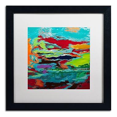 Trademark Fine Art Hilary Winfield 'Hidden Pathway' 16 x 16 (ALI0720-B1616MF)