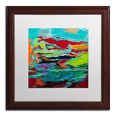 Trademark Fine Art Hilary Winfield 'Hidden Pathway' 16 x 16 (ALI0720-W1616MF)