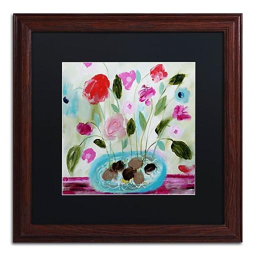Trademark Fine Art Carrie Schmitt 'Winter Blooms II'  16 x 16 (886511734272)