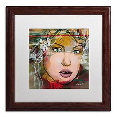 Trademark Fine Art Andrea 'Esmeralda' 16 x 16 (MA0605-W1616MF)