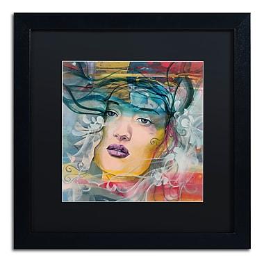 Trademark Fine Art Andrea 'Mirada Lejana' 16 x 16 (MA0607-B1616BMF)