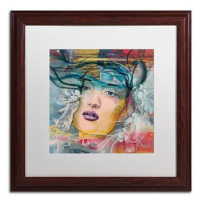 Trademark Fine Art Andrea 'Mirada Lejana' 16 x 16 (MA0607-W1616MF)