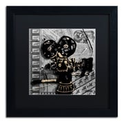 Trademark Fine Art Roderick Stevens 'Movie Camera'  16 x 16 (RS1002-B1616BMF)