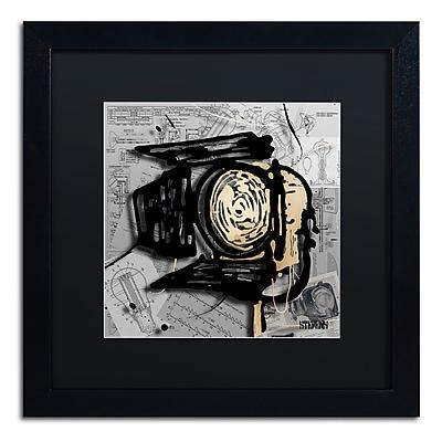Trademark Fine Art Roderick Stevens 'Movie Light' 16 x 16 (RS1003-B1616BMF)