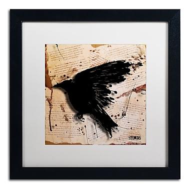 Trademark Fine Art Roderick Stevens 'The Raven 3' 16 x 16 (RS1013-B1616MF)