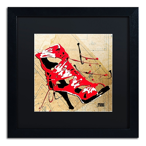 Trademark Fine Art Roderick Stevens 'Red Strap Boot'  16 x 16 (RS988-B1616BMF)
