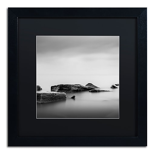 Trademark Fine Art Dave MacVicar 'Breakwater'  16 x 16 (886511741607)