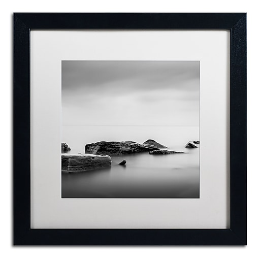 Trademark Fine Art Dave MacVicar 'Breakwater'  16 x 16 (ALI0824-B1616MF)