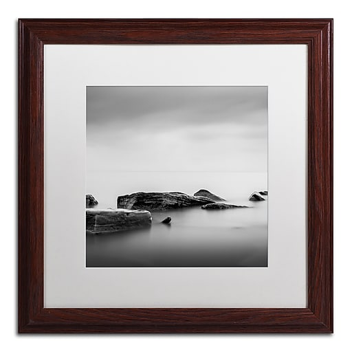 Trademark Fine Art Dave MacVicar 'Breakwater'  16 x 16 (ALI0824-W1616MF)