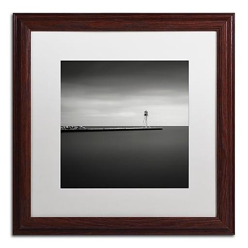 Trademark Fine Art Dave MacVicar 'Erieau 1'  16 x 16 (ALI0830-W1616MF)