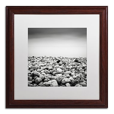 Trademark Fine Art Dave MacVicar 'Pebble Beach' 16 x 16 (ALI0844-W1616MF)