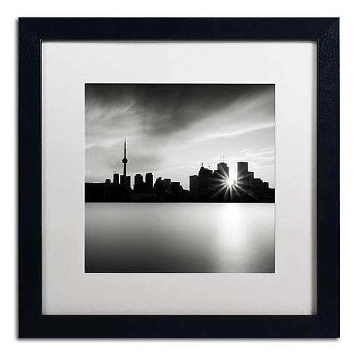 Trademark Fine Art Dave MacVicar 'Silver City'  16 x 16 (ALI0852-B1616MF)