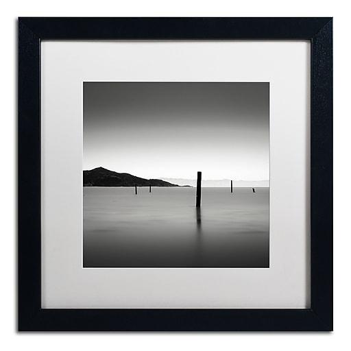 Trademark Fine Art Dave MacVicar 'The Pacific'  16 x 16 (ALI0861-B1616MF)