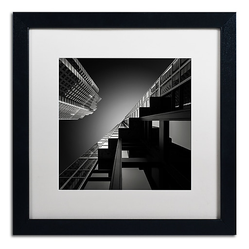 Trademark Fine Art Dave MacVicar 'Six Steps'  16 x 16 (ALI0877-B1616MF)