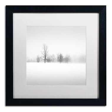 Trademark Fine Art Dave MacVicar 'Winter Fog' 16 x 16 (ALI0879-B1616MF)