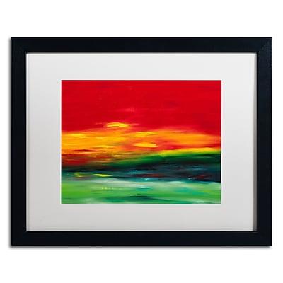 Trademark Fine Art Hilary Winfield 'Island Sky 2' 16 x 20 (ALI0721-B1620MF)