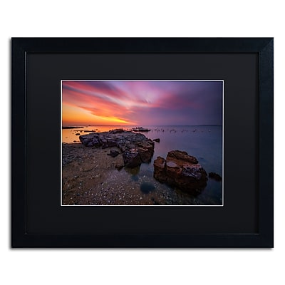 Trademark Fine Art Lincoln Harrison 'Beach at Sunset 6' 16 x 20 (886511728646)