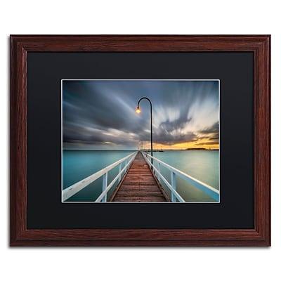 Trademark Fine Art Lincoln Harrison 'Lagoon Pier 2' 16 x 20 (886511728929)