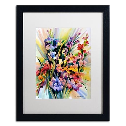 Trademark Fine Art Rita Auerbach 'Glad Bursts'  16 x 20 (ALI0735-B1620MF)