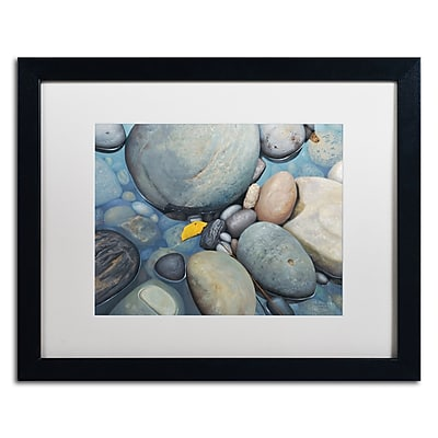 Trademark Fine Art Stephen Stavast 'Reflections on a Gray Day' 16 x 20 (ALI0744-B1620MF)