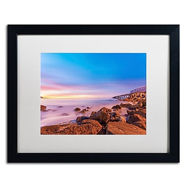 Trademark Fine Art Chris Moyer 'Low Shoals View' 16 x 20 (ALI0763-B1620MF)