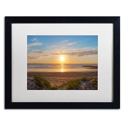 Trademark Fine Art Chris Moyer 'Pierpont Sunset' 16 x 20 (ALI0766-B1620MF)