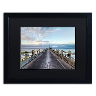 Trademark Fine Art Chris Moyer 'Carpinteria Pier View I' 16 x 20 (886511732049)