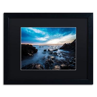 Trademark Fine Art Chris Moyer 'Bacara Twilight' 16 x 20 (886511732445)