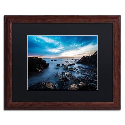 Trademark Fine Art Chris Moyer 'Bacara Twilight' 16 x 20 (886511732513)