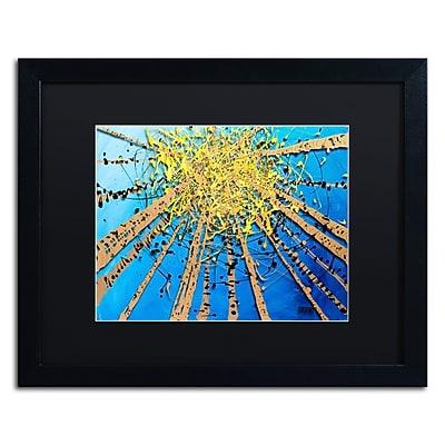 Trademark Fine Art Roderick Stevens 'Brown Aspen Sky' 16 x 20 (RS995-B1620BMF)