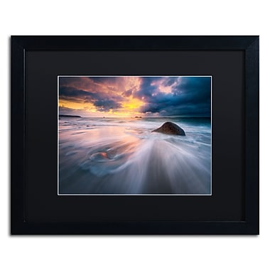 Trademark Fine Art Mathieu Rivrin 'Ocean Painting' 16 x 20 (RV0039-B1620BMF)