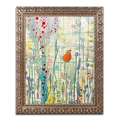 Trademark Global Sylvie Demers 'Alpha' Ornate Framed Art, 16