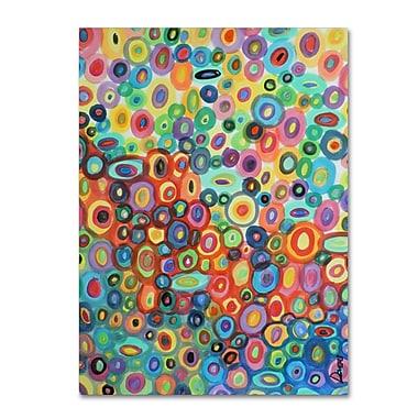 Trademark Fine Art Sylvie Demers 'First Love' 24 x 32 (ALI0891-C2432GG)