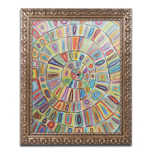 Trademark Fine Art Sylvie Demers 'Ma Cible'  11 x 14 (ALI0898-G1114F)