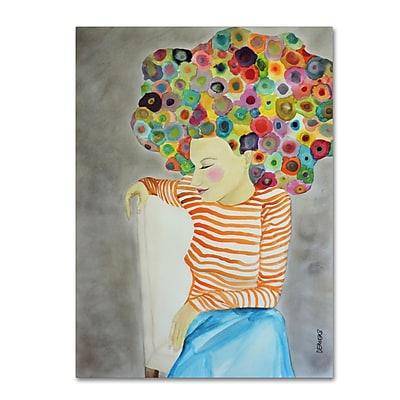 Trademark Fine Art Sylvie Demers 'Marion' 14 x 19 (ALI0899-C1419GG)