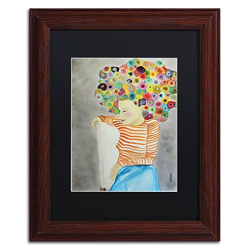 Trademark Fine Art Sylvie Demers 'Marion'  11 x 14 (886511751927)