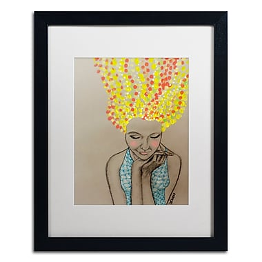 Trademark Fine Art Sylvie Demers 'Miss Sunshine' 16 x 20 (ALI0900-B1620MF)