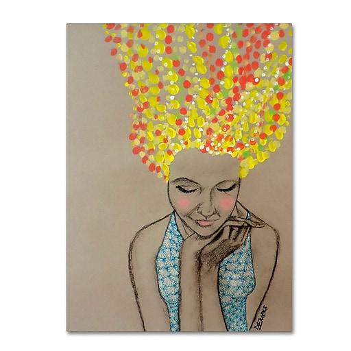 Trademark Fine Art Sylvie Demers 'Miss Sunshine'  18 x 24 (ALI0900-C1824GG)