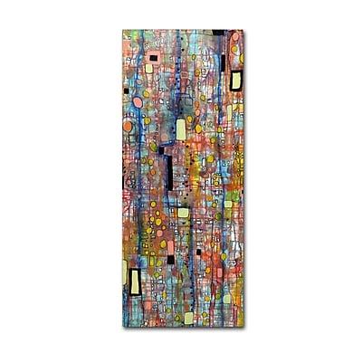 Trademark Fine Art Sylvie Demers 'Nervures' 20 x 47 (ALI0902-C2047GG)