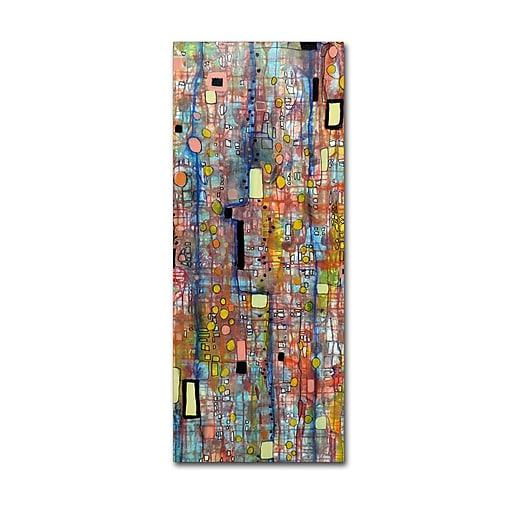 Trademark Fine Art Sylvie Demers 'Nervures'  10 x 24 (ALI0902-C1024GG)